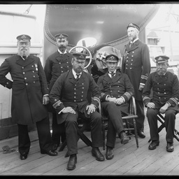 H.M.S. Protector Officers