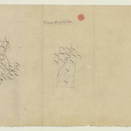 [Tracing showing sections in Hundred of Yankalilla(part)] [cartographic material]