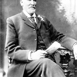 Seated portrait of William Peter Dunk