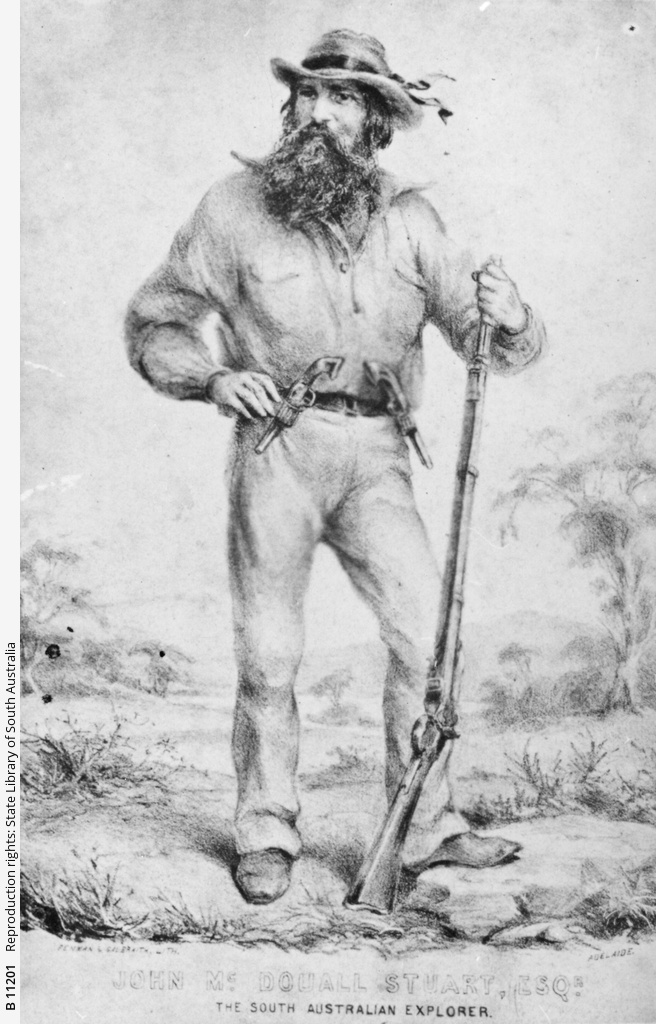 John McDouall Stuart, Esquire. The South Australian Explorer