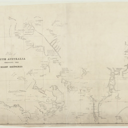 Part of South Australia shewing the recent discoveries [cartographic material]