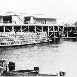 Arbuthnot at Echuca wharf