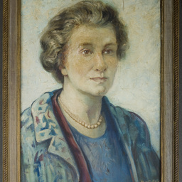 Self portrait by Mabel Grigg