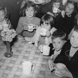 Children at Whitefield's Congregational Institute