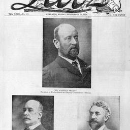 Arthur Searcy, L. H. Scholl and W. Strawbridge