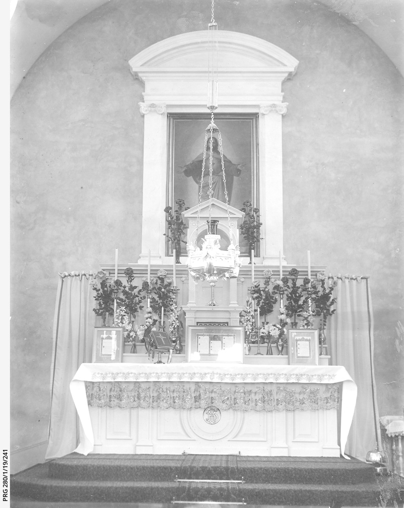 The altar in St. Patrick's Church, Adelaide