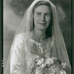 Miss B. T. Sutton on her wedding day