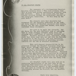 Exhortation material during World War II production, General Motors-Holden's
