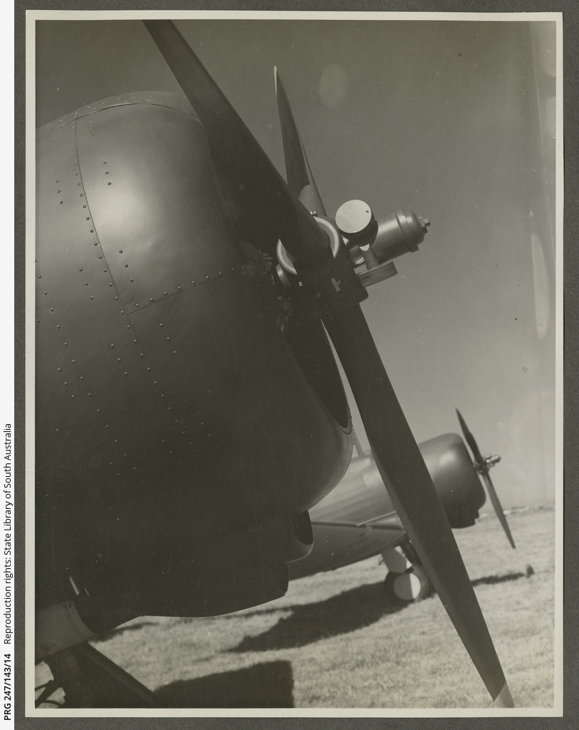 A20 CAC Wirraway propeller.