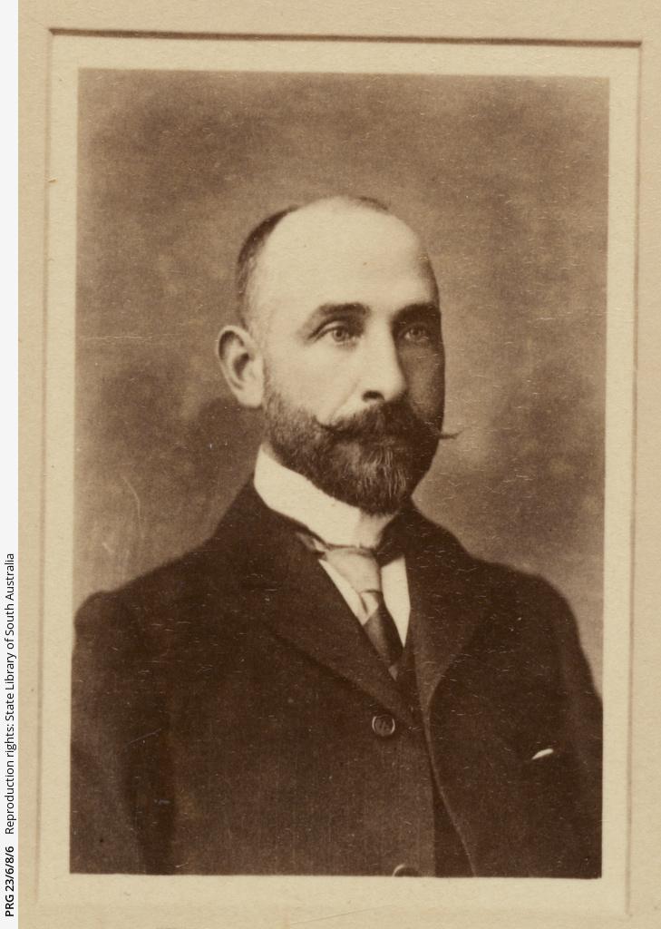 Portrait of E. Lucas.