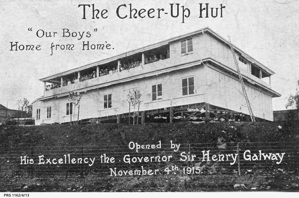 The Cheer-Up Hut in Adelaide