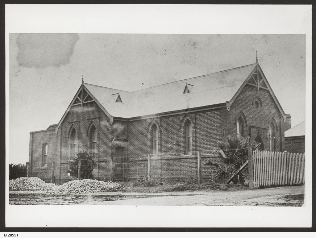 Baptist church at Richmond