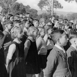 Woodville School children