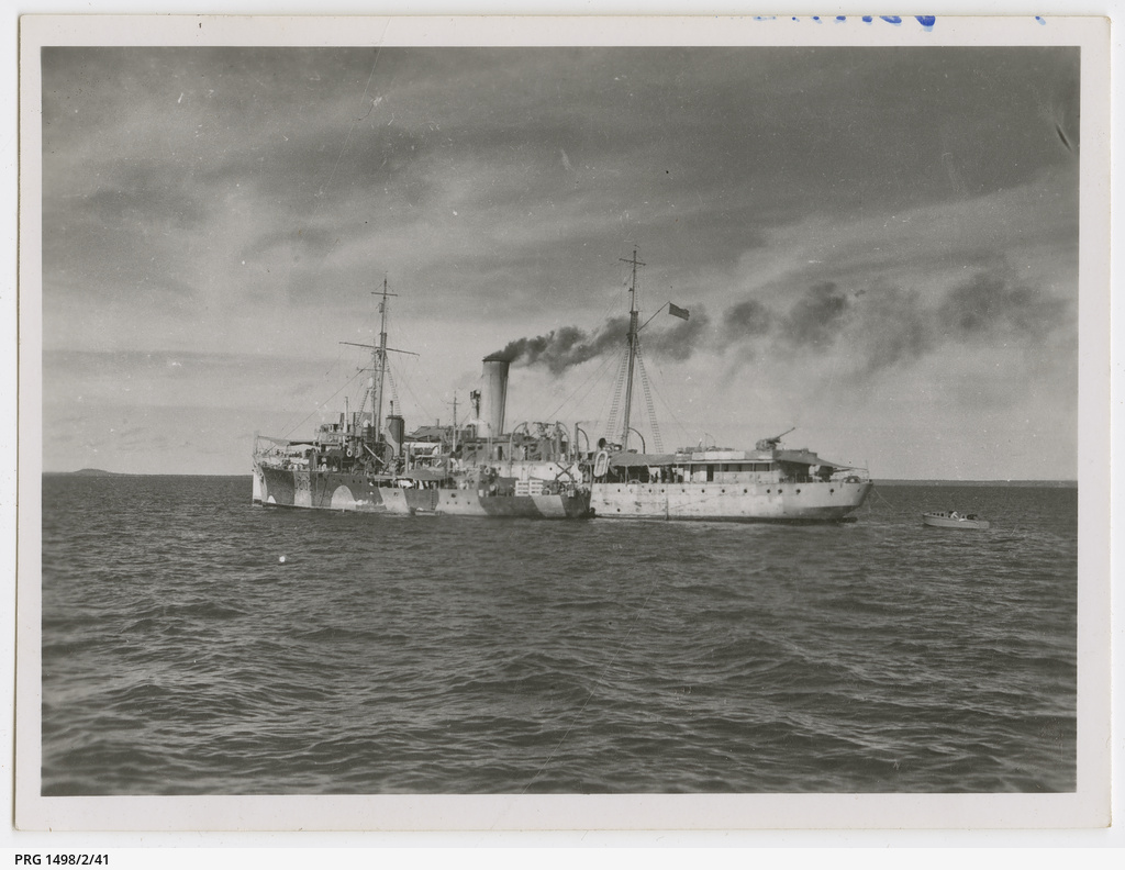 Colin James Ellis, World War II photograph album, Darwin.