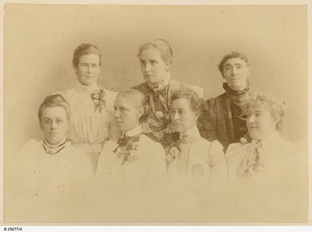 Staff of the Advanced School for Girls