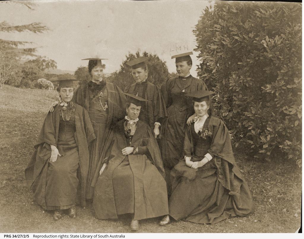 Women graduates of the University of Adelaide