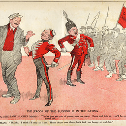 Prime Minister Billy Hughes and conscription