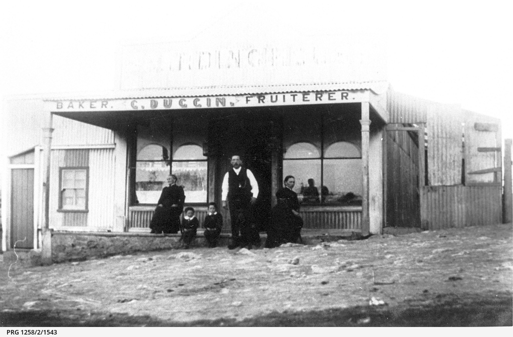 Gilbert Duggin's store at Morgan