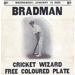 [Bradman : cricket wizard]