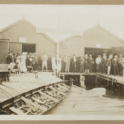 First South Australian Rowing Association day, 1920
