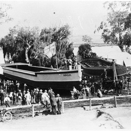 Argo barge