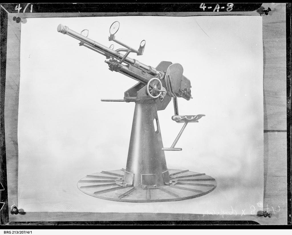 Anti-tank gun • Photograph • State Library of South Australia