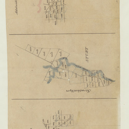 [Tracing showing sections in Hundreds of Yankalilla, Myponga, Strathalbyn, Adelaide and Noarlunga (parts)] [cartographic material]