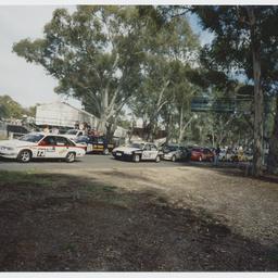 V-8 sedan cars at Adelaide Clipsal 500