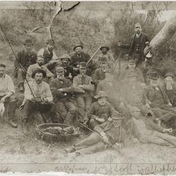 Party of Mount Gambier sportsmen