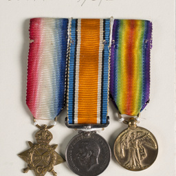 World War 1 medals and records of Private Roy Alfred Nelson