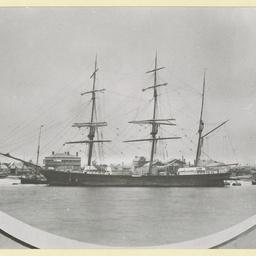 The 'Charlotte Padbury' at Port Adelaide