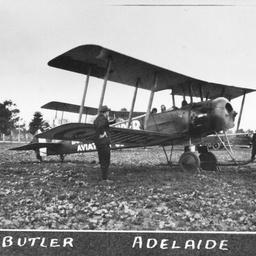 Captain Harry Butler Aircraft
