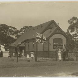 Photographs of St John's Church and Hall, Coromandel Valley