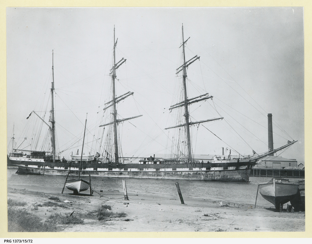 The 'Albuera' at Port Adelaide
