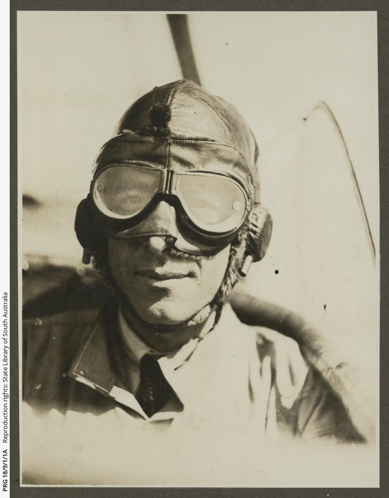 Keith Smith in flight uniform.