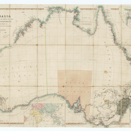 Map 8f Australia.Australia From Surveys Made By Order Of The British Government