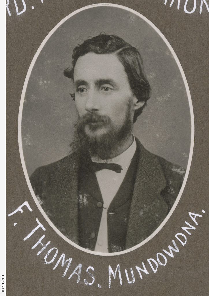 S.A. Northern Pioneers: F. Thomas