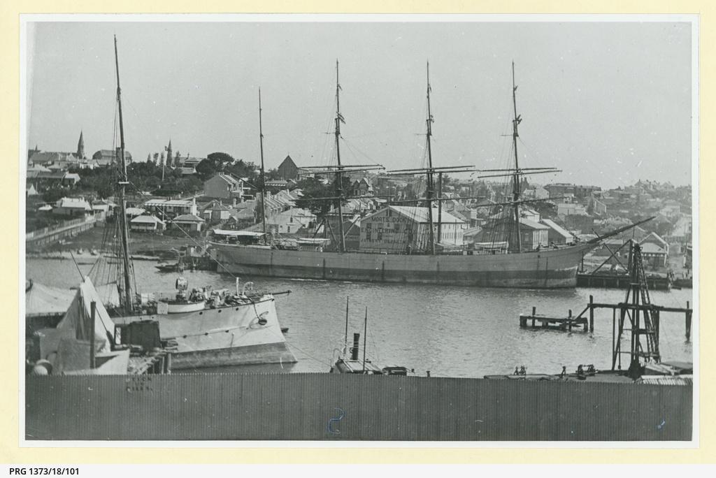 The 'Thistlebank' at Sydney, Mort's Dock