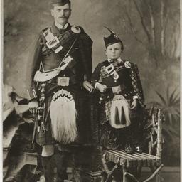 John McCuspie and son