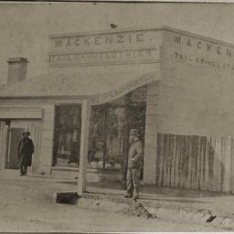 C. MacKenzie's shop at Mount Gambier