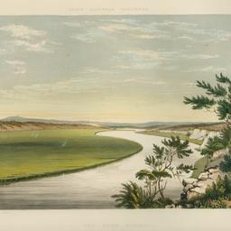 The River Murray, near Lake Alexandrina