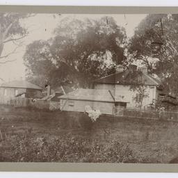 Back of Davis house