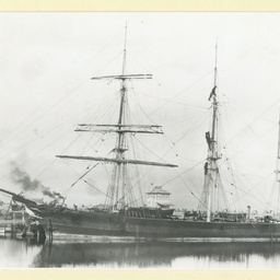 The 'Invercauld' at Port Adelaide