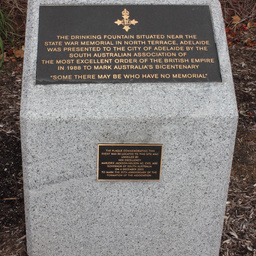 South Australian Association of the Most Excellent Order of the British Empire plaque, Adelaide