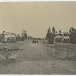 A street in the township of Blinman, 1897-98
