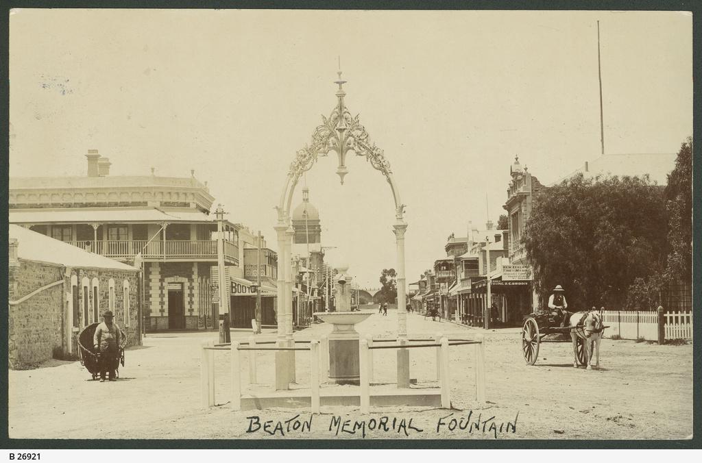Beaton Memorial Fountain