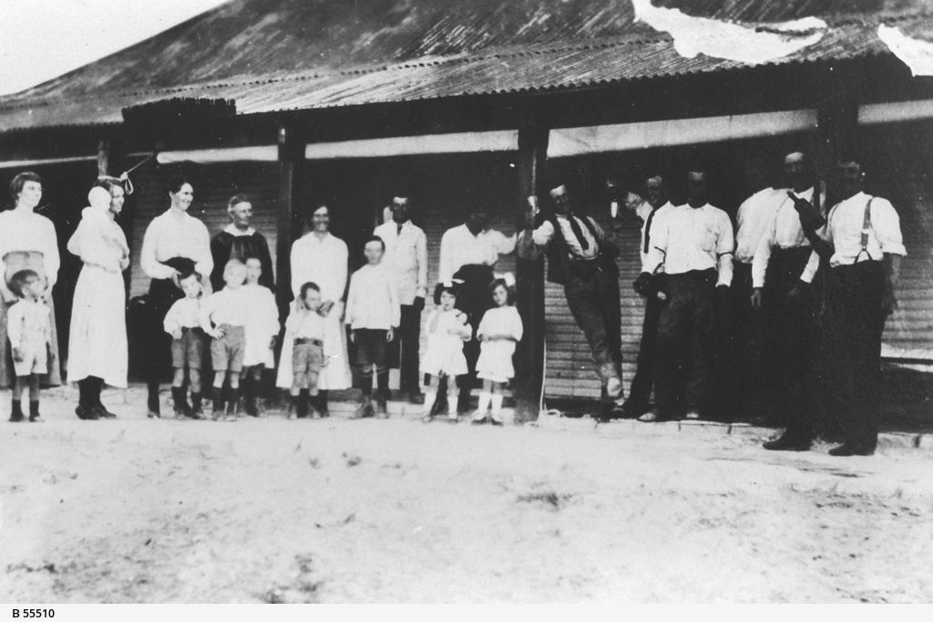 People on Innamincka Station