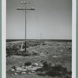 Photos from a report on the reconstruction of the East West Telegraph Line