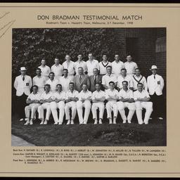 Don Bradman Testimonial Match