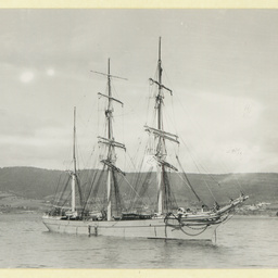 The 'Sierra Blanca' at anchor